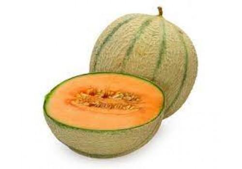 Fresh Muskmelon - Organically Grown,  (Approx. 600 g - 900 g)