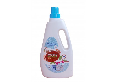 BubbleNut Wash – Natural Liquid Laundry Detergent