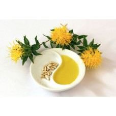 Safflower Oil (Kusube) - Cold pressed - 1/2 Litre