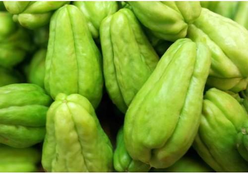 Fresh Chow Chow  (ಸೀಮೆ ಬದನೆಕಾಯಿ) - Organically Grown